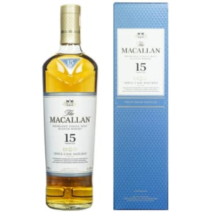 Rượu The Macallan 15YO - Triple Cask Matured